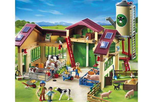 neuer bauernhof mit silo von playmobil